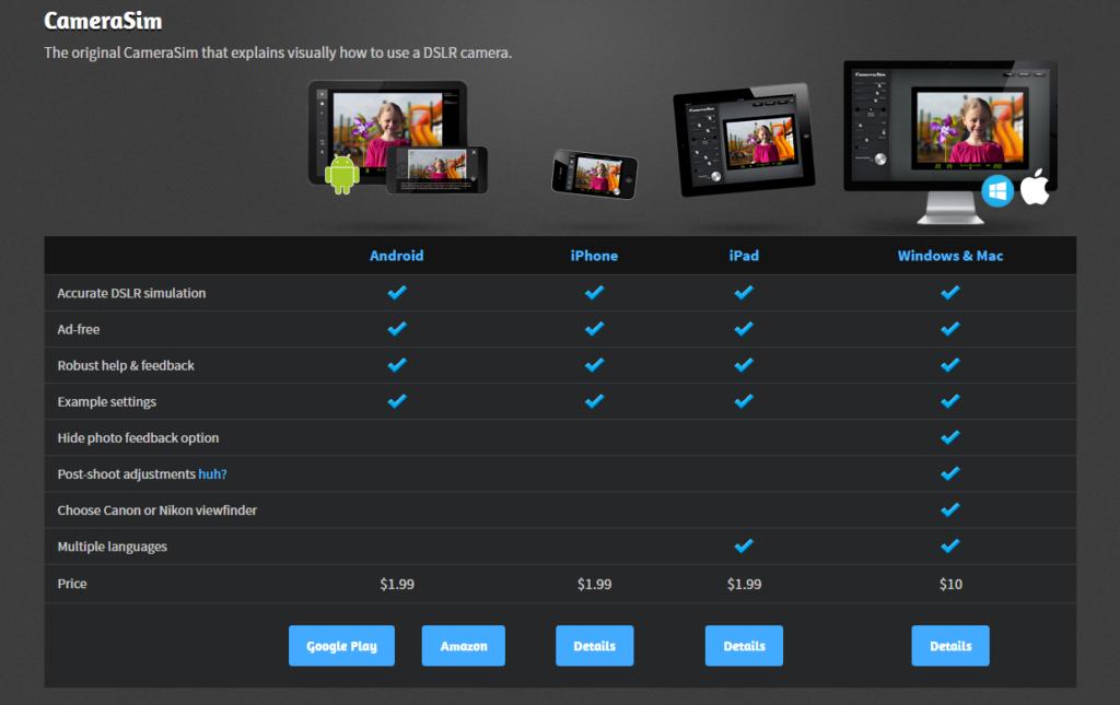 symulator aparatu jak uczyć się fotografii online