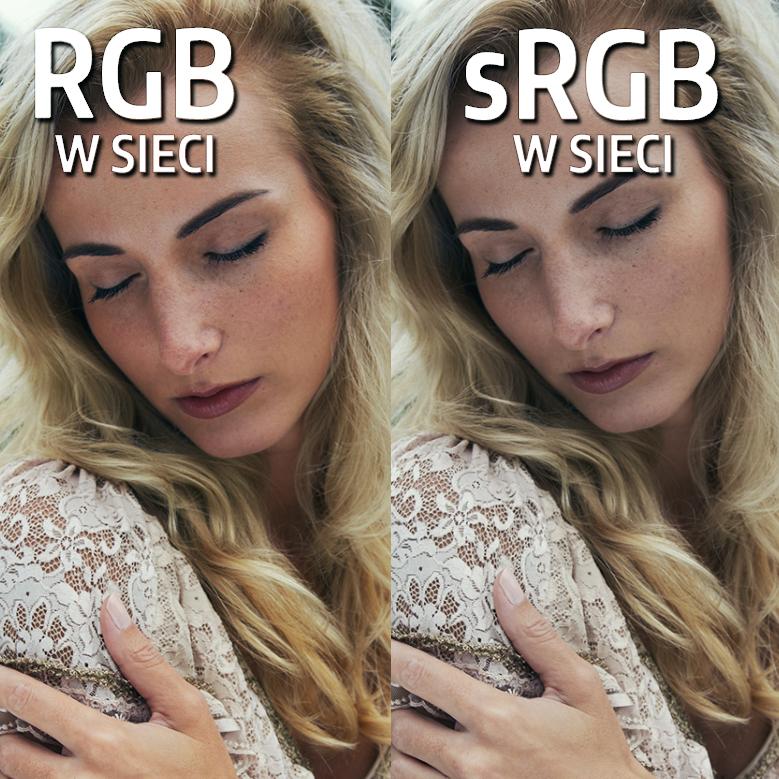 Jak zapisywać zdjęcia doInternetu RGB vs sRGB