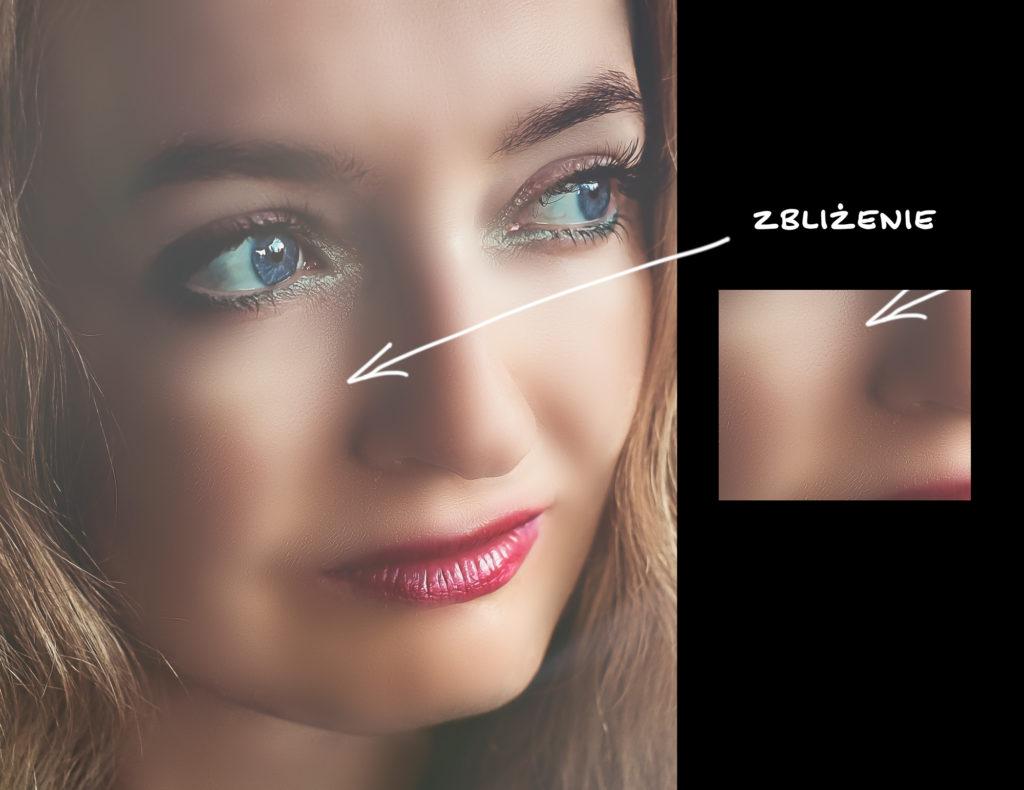 błędne używanie frequency separation blurowanie złe nakażdym etapie 10 grzechów retuszu