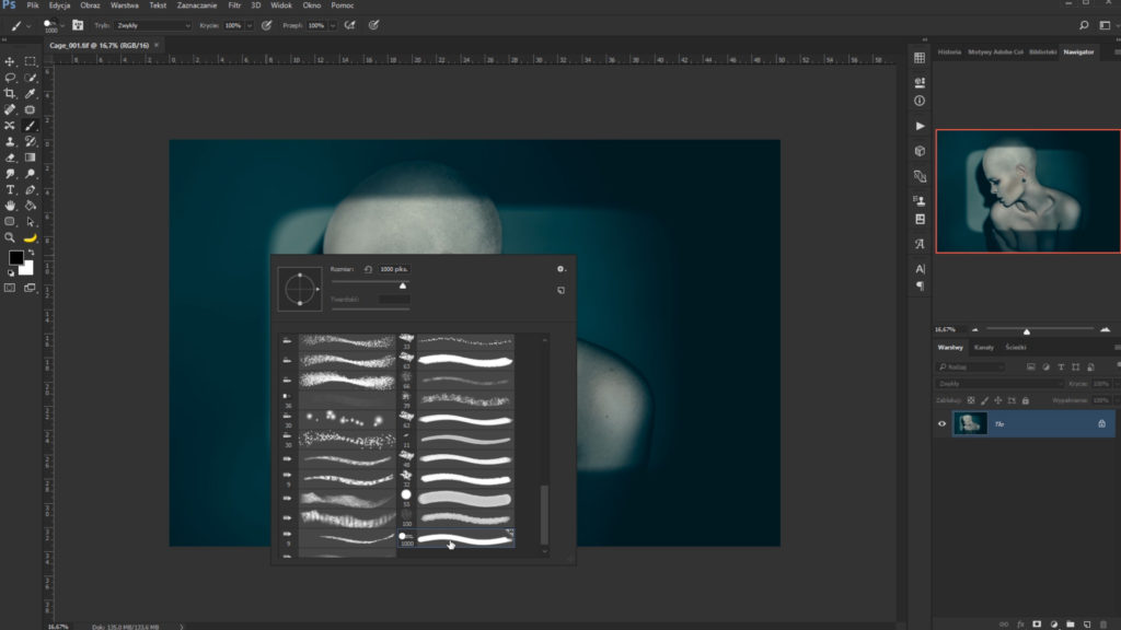 tworzenie własnego pędzla wPhotoshopie: używanie