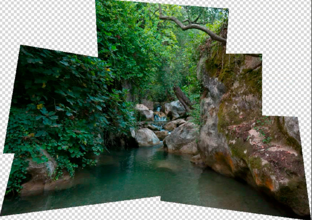 photomerge - połączone zdjęcia wphotoshopie