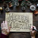 świąteczne kształty i fonty do pobrania