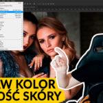 jak szybko poprawić kolor skóry - photoshop tutorial - sztuka retuszu